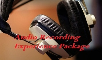 Audio Recording Experience