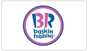 Baskin Robbins e-gift card