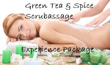 Green Tea and Spice Scrubassage Experience
