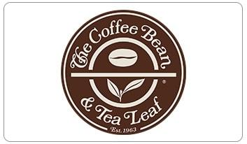 The Coffee Bean and Tea e-gift card